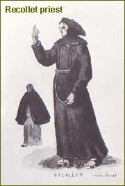 Recollet priest